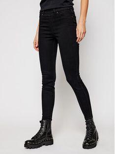 SPANX Jeansy Ankle 20278R Czarny Skinny Fit