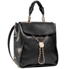 Plecak LIU JO - M Backpack Impr  AA1073 E0040 Nero 22222