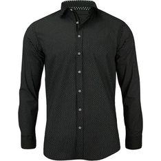 Koszula męska Rigon czarny