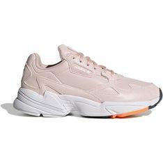 Buty sportowe damskie Adidas bez wzorów skórzane sznurowane