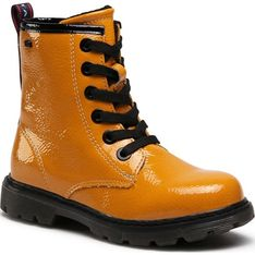 Buty zimowe dziecięce Tom Tailor żółte trapery