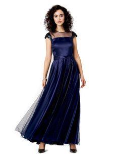 Wieczorowa suknia z tiulem Potis & Verso OKALANI