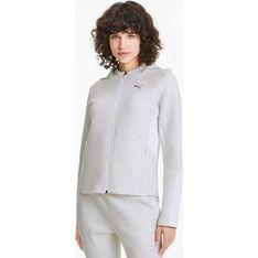 Bluza damska Puma sportowa biała krótka