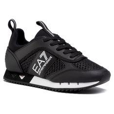 Sneakersy EA7 EMPORIO ARMANI - X8X027 XK050 A120  Black/White