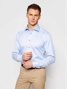Eton Koszula 100003019 Niebieski Slim Fit
