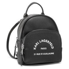 Plecak KARL LAGERFELD - 205W3083 Black
