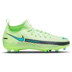 Buty piłkarskie Nike Phantom Gt Academy Df Mg Jr CW6694-303 wielokolorowe zielone
