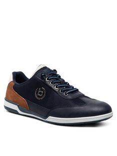 Bugatti Sneakersy 321-72603-5900-4100 Granatowy