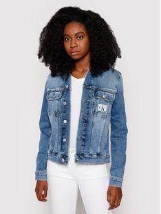 Calvin Klein Jeans Kurtka jeansowa J20J215928 Niebieski Regular Fit