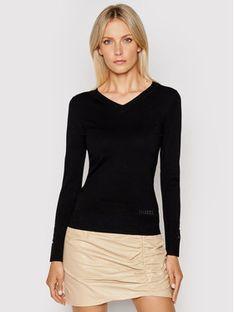 Guess Sweter W1YR03 Z2V60 Czarny Regular Fit