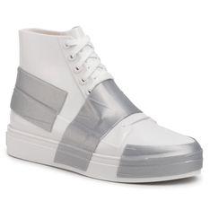 Sneakersy MELISSA - Melissa Crew Ad 32437  White/Silver 50554