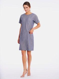 Niebieska sukienka Potis & Verso ETTA