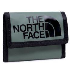 Duży Portfel Męski THE NORTH FACE - Base Camp Wallet NF00CE69YXN1  Agavegrn/Tnfblk
