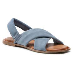 Sandały TAMARIS - 1-28178-36 Dusty Blue 845