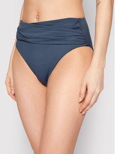 Seafolly Dół od bikini High Waist Wrap Front 40643-065 Szary