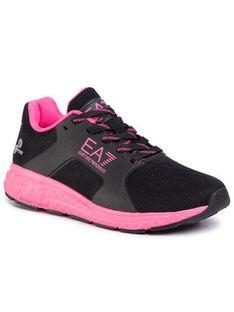 EA7 Emporio Armani Sneakersy XSX001 XOT01 M496 Czarny