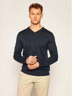 Joop! Jeans Sweter 15 JJK-02Barry 30019121 Granatowy Regular Fit