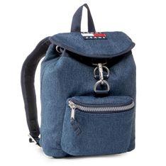 Plecak TOMMY JEANS - Tjw Heritage Sm Backpack Denim AW0AW08278 CA7