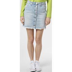 Spódnica Tommy Jeans casual niebieska na wiosnę