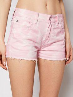 Ice Play Szorty jeansowe 21E U2M0 D081 6031 S411 Różowy Regular Fit