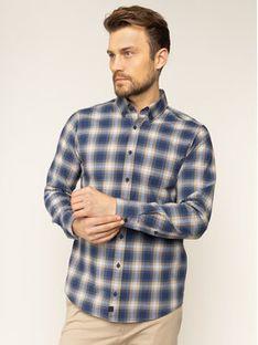 Strellson Koszula Cobe2 30018833 Granatowy Slim Fit