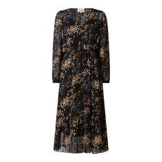 Sukienka z szyfonu ze wzorem w drobne kwiaty model 'Snora'