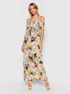 Liu Jo Beachwear Sukienka letnia VA1062 T4031 Kolorowy Regular Fit