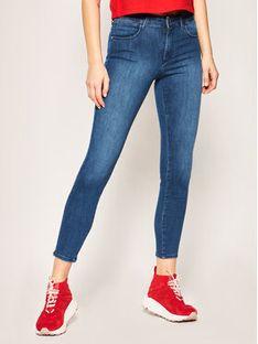 Wrangler Jeansy Skinny Fit Bespoke W28KWY116 Granatowy Skinny Fit