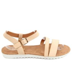 Sandałki damskie beżowe X570 Beige beżowy