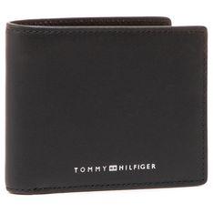 Duży Portfel Męski TOMMY HILFIGER - Th Metro Mini Cc Wallet AM0AM07291 BDS