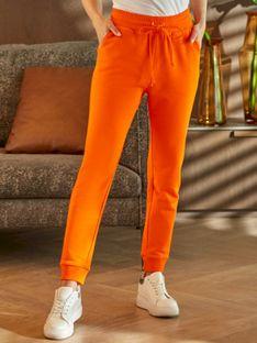 Damskie pomarańczowe spodnie dresowe L'AF MANGO