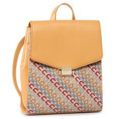 Plecak NOBO - NBAG-I1540-C002  Kolorowy Żółty