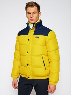 Tommy Jeans Kurtka puchowa Corp DM0DM09379 Żółty Regular Fit