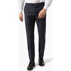 Spodnie męskie Strellson gładkie