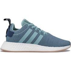 Buty sportowe damskie Adidas nmd bez wzorów na wiosnę