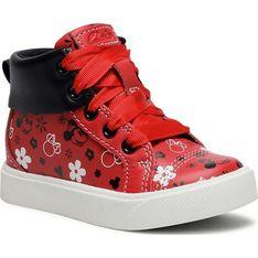 Buty zimowe dziecięce czerwone Clarks