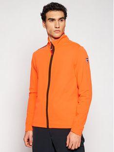 Rossignol Bluza Palmares Full Zip RLIML05 Pomarańczowy Slim Fit
