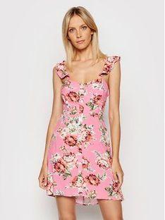Maaji Sukienka letnia 1791CSD001 Różowy Relaxed Fit