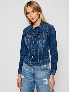 G-Star Raw Kurtka jeansowa Elto Pure Stretch D17437-C052-A951 Granatowy Slim Fit