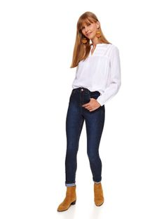 Spodnie damskie jeansowe push up