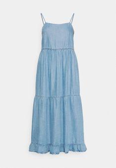 ONLY - Sukienka jeansowa - jasnoniebieski