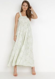 Jasnozielona Sukienka Rilyne