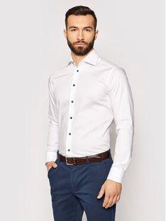 Eton Koszula 100002195 Biały Slim Fit
