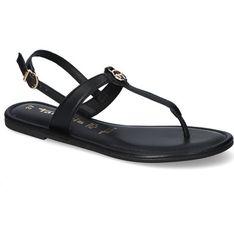 Sandały damskie Tamaris skórzane