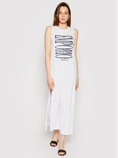 Emporio Armani Sukienka plażowa 262635 1P340 71710 Biały Regular Fit