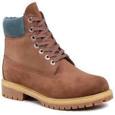"Trapery TIMBERLAND - 6"" Premium Boot TB0A2NAC931 Dark Brown Nubuck"