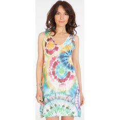 Sukienka Unisono casualowa na ramiączkach mini z dekoltem w serek