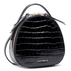 Plecak COCCINELLE - HV3 Mini Bag E5 HV3 54 01 01 06 Noir 001