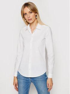 Pinko Koszula Dolcezza 3 PE 21 BLK01 1G15NZ Y6VW Biały Regular Fit