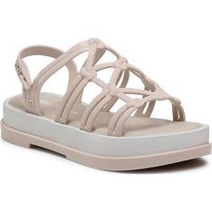 Sandały damskie Melissa z klamrą z tworzywa sztucznego na lato